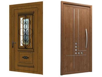 Puerta entrada pvc cool puertas de alumnio pvc y panel for Puertas de entrada de pvc