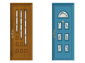 Puertas de alumnio pvc y panel s ndwich navarra for Disenos de puertas de aluminio
